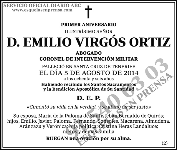 Emilio Virgós Ortiz